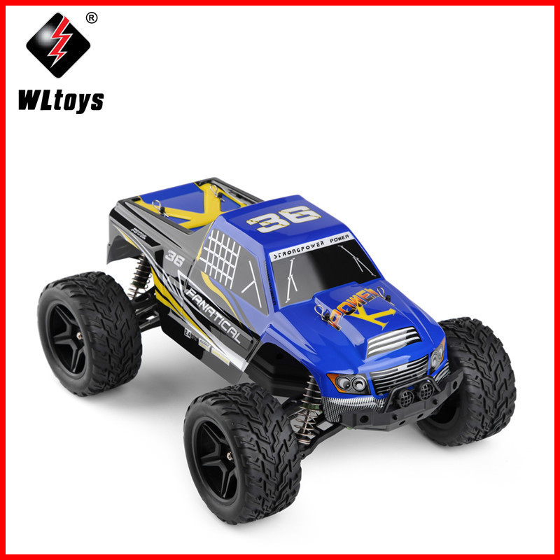 WLtoys A323 2.4GHz 2WD 1/12 Scale High Speed Brushed Electric RTR RC Car Model Remote Control Toys Cars Big Wheels Truck Toys high speed big rc car 9116 1 12 2wd brushed rc monster truck rtr 2 4ghz good children toy