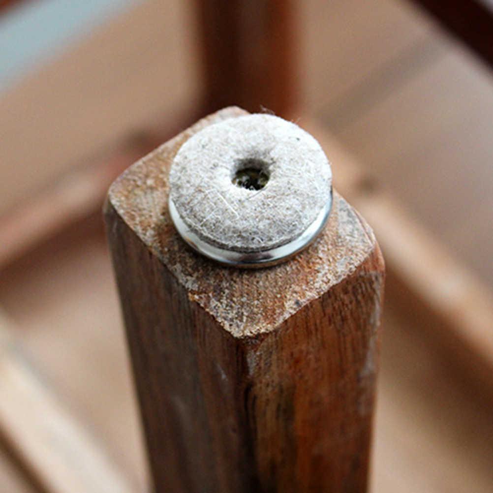 1Pcs Pesados Sentiu Pad Pés Skid Glide Móveis Perna Da Cadeira de Mesa DIY Nail Protector Para Casa 22/24 /28mm