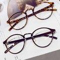 Os mais recentes Designer de Luz Frame Eyewear Elegante Perna Das Mulheres Dos Homens Óculos Ópticos Óculos de Armação de Computador Rodada Frame_SH259