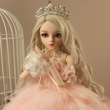 BJD 1/3ball jointed Doll gifts for girl Handpainted makeup f
