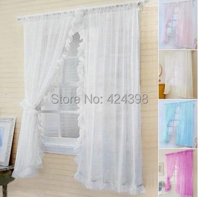 Rustico set di tende per finestra letto mantello intorno tulle tenda ...