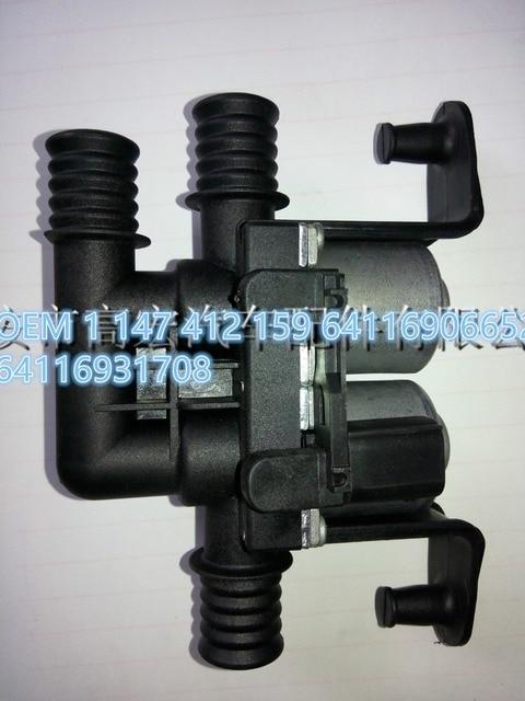 New Heater Control Valve Solenoid for BMW E60 E63 E64 E65 E66 OEM 64116906652 64 11 6 906 652