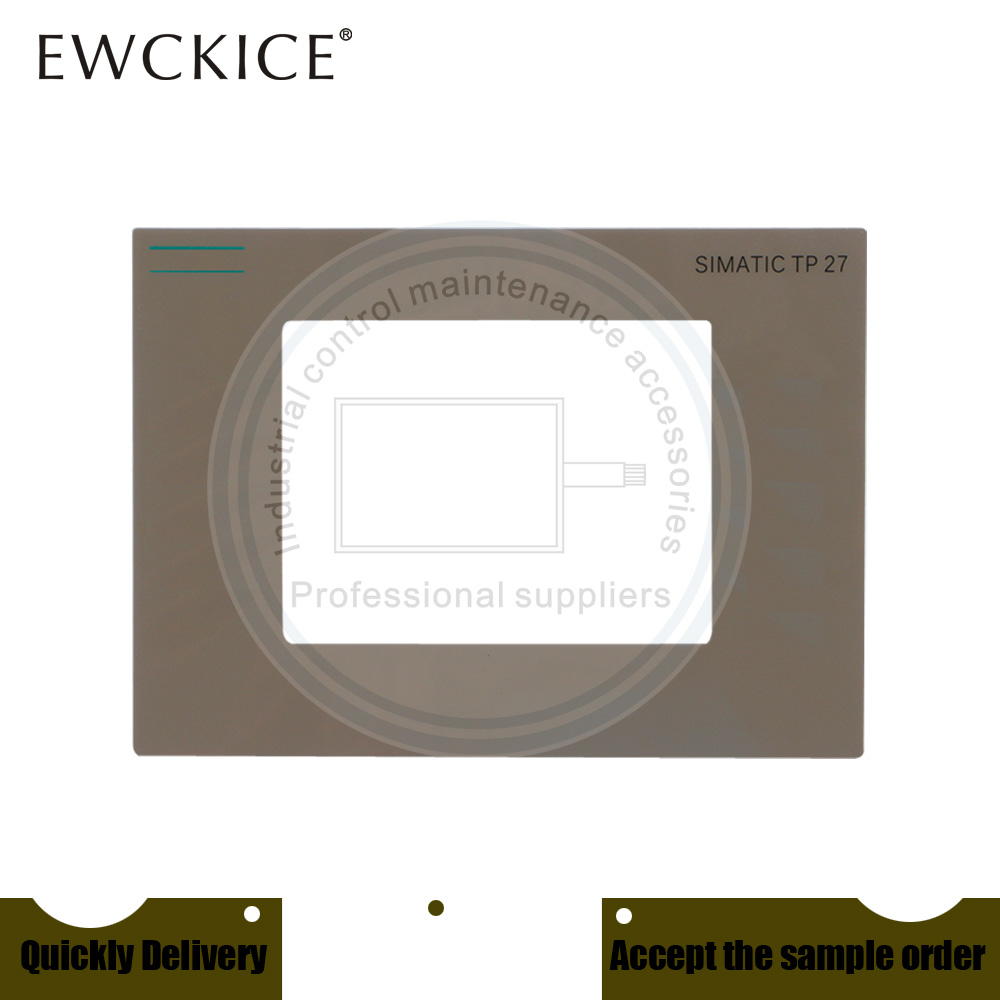 NEW TP27-6 6AV3627-1NK00-2AX0 6AV3 627-1NK00-2AX0 HMI PLC Front label Industrial control sticker