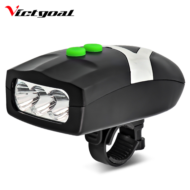 1a6bde4eb16 VICTGOAL Bike Light Loud Bicycle Horn Bicycle LED Headlight Waterproof Front  Light Bicycle Bell Cycling Flashlight Rear Lamp