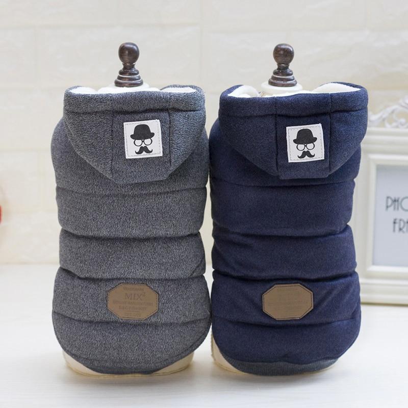 High Quality Pet Dog Cat Cloth Cotton Vest Soft Winter Warm Jacket Coat Pet Product Dog Supplies Size Xs ~xl Roupa De Cachorro