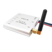 Apa102 sk6812 ws2812b ws2811 led 스트립 조명에 대 한 SP301E M/SP301E MS 프로그래밍 가능한 rf 동기 컨트롤러