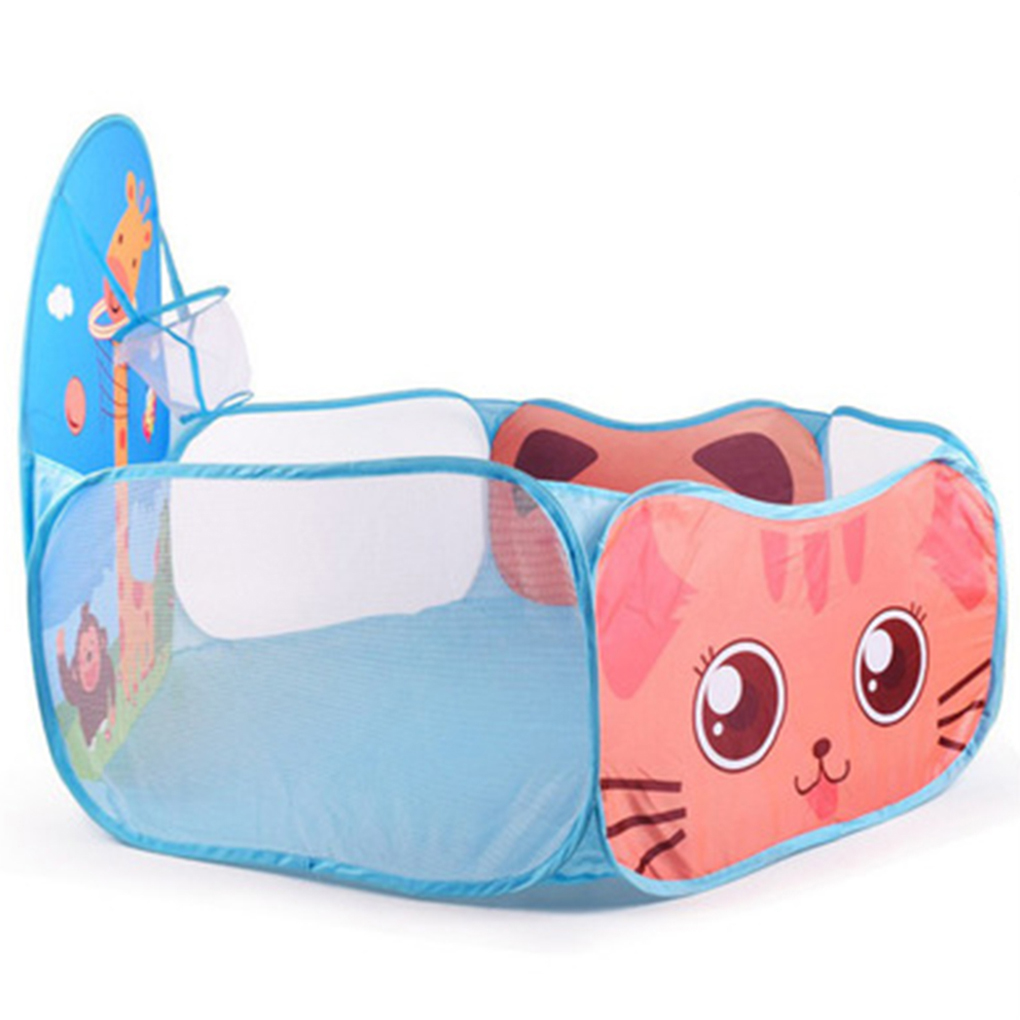 Children Ocean Ball Pool With A Shooting Basket Children Indoor Sports Toys Kids Toys Large Childrens Tent Play Basket Tents