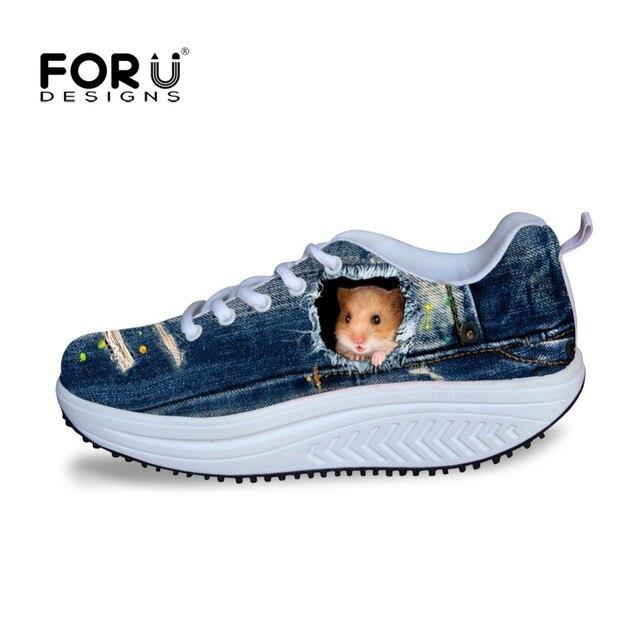 fd0136e832ef Height Increasing Swing Shoes Super Cute 3d Women Slimming Wedges Womens  Casual Shoes teenage girls Beauty