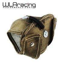 WLR гоночный титановый Турбо тепловой щит турбо одеяло для Audi S3/Volkswagen Golf Mk7/Seat Leon WLR-TBF05