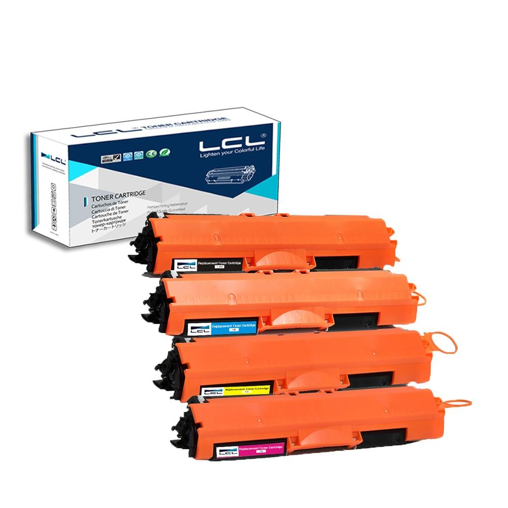 LCL 126A CE310A CE311A CE312A CE313A (4-Pack KCMY) Tonerpatrone Kompatibel für HP...