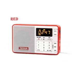 Image 2 - TECSUN Q3 راديو حجم الجيب مسجل صغير مع/بدون 8GB 16G TF بطاقة مشغل MP3 FM ستيريو FM 76 108 MHz شحن مجاني