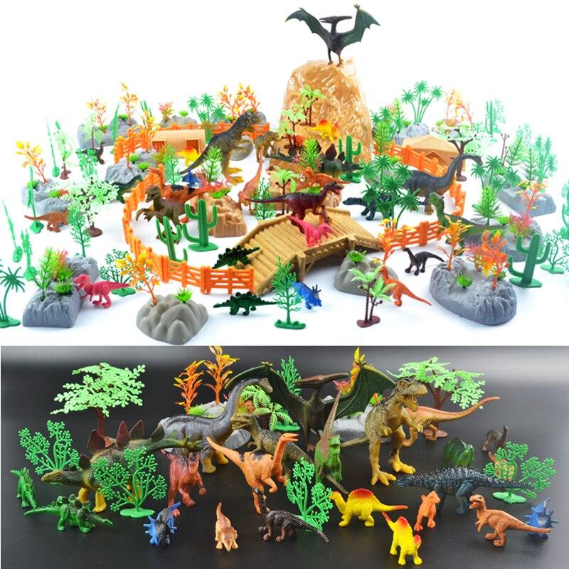 ФОТО Free Shipping 200pcs/lot Dinosaur Plastic Simulation Jurassic Play Dinosaur Model Action Figures T-REX DINOSAUR Best Toys