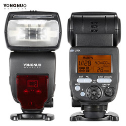 YongNuo YN660 GN66 Flash 2.4G Wireless Transmission Transceiver Master Slave Speedlite Flash for Nikon Canon Pentax DSLR Camera