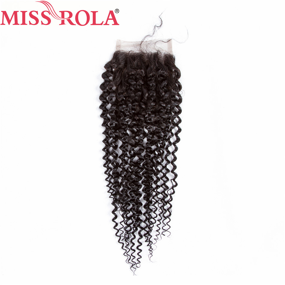 Mlle Rola Cheveux Pré-colorés Péruvienne Crépus Bouclés 3 - Cheveux humains (noir) - Photo 3