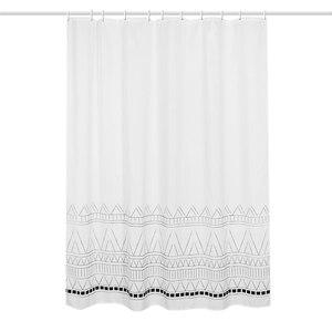 Image 5 - LIANGQI Thicken Ethnic tassel 샤워 커튼 욕실 도구 파티션 방수 고품질 매달려 커튼 홈 인테리어