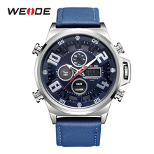 Weide Brand 2019 New Hot Men Sports Watches LED Digital Quartz Wrist Mens Top Luxury watch clock mens