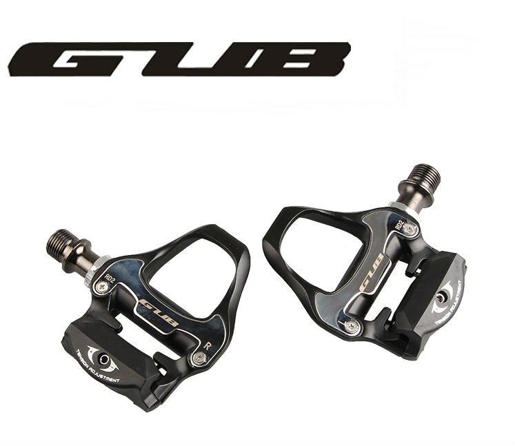 Livraison gratuite GUB 296g alliage de magnésium Vélo De Route pédales automatiques avec 2 paires look keo Compatible crampons autobloquant pédale