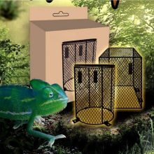 Cage Protection Lampshade Shell Heating Lamp Round Anti-Scalding Lampshade Habitat Decor Reptiles Pet Products(China)