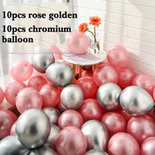 20pcs/lot Wedding birthday party Supplies Chromium balloon Ruby red Star Blue Latex Party arrangement Decoration 10inch