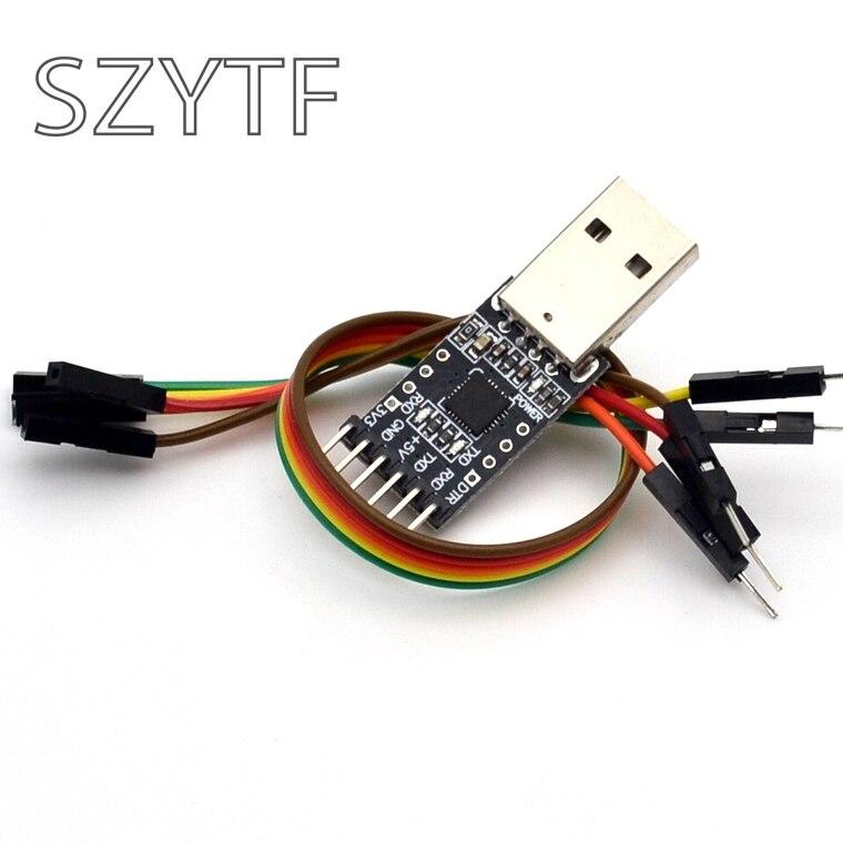 Новый CP2102 модуль USB к ttl USB к последовательному UART stc-загрузчик кисть доска