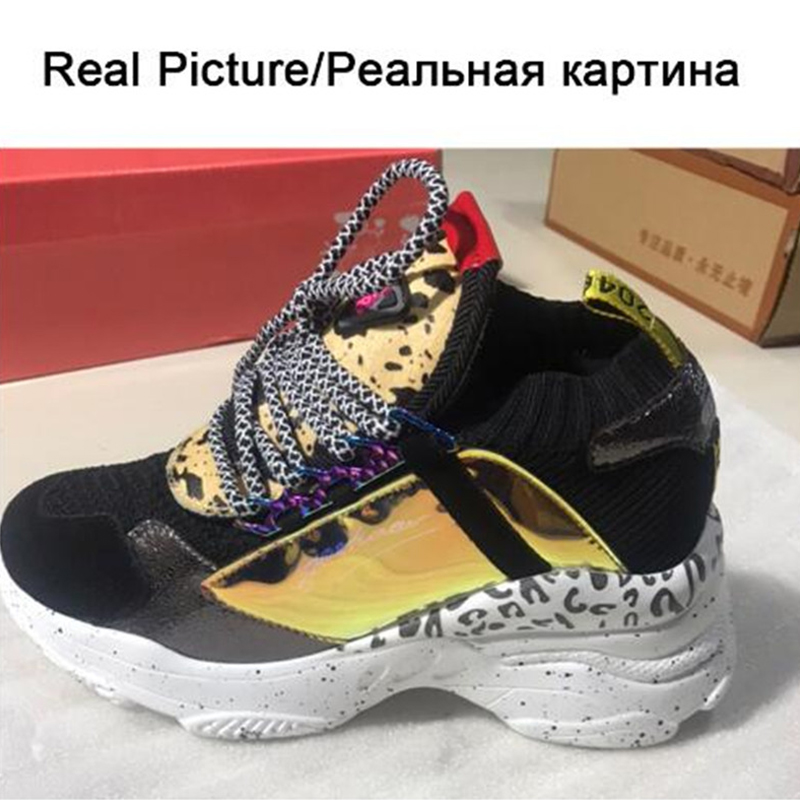 KARINLUNA 2019 New Spring Genuine Cow Leather Sneakers Female Lace Up Horse Fur Decoration Casual Shoes For Ladies Shoes Woman in Women 39 s Flats from Shoes