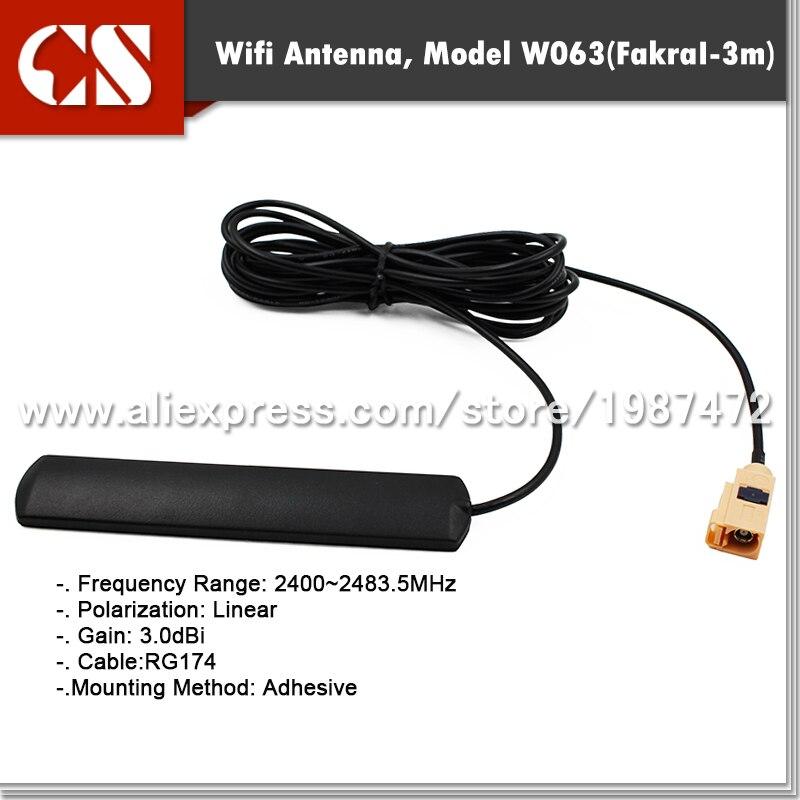 bilder für Auto wifi antenne, fahrzeug wifi antenne mit Fakra I/3 mt kabel