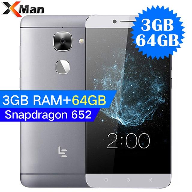 """Глобальная версия Letv LeEco Le 2X526/Le S3 X522 3 ГБ Оперативная память 64 ГБ Встроенная память 5,5 """"3000 мАч Snapdragon 652 Octa Ядро Andriod 6,0 16MP Камера"""