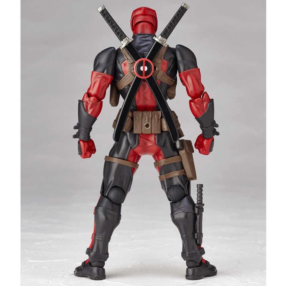 NEW hot 16 cm Super hero X-Men Deadpool movable action figure coleção de brinquedos boneca de presente de Natal