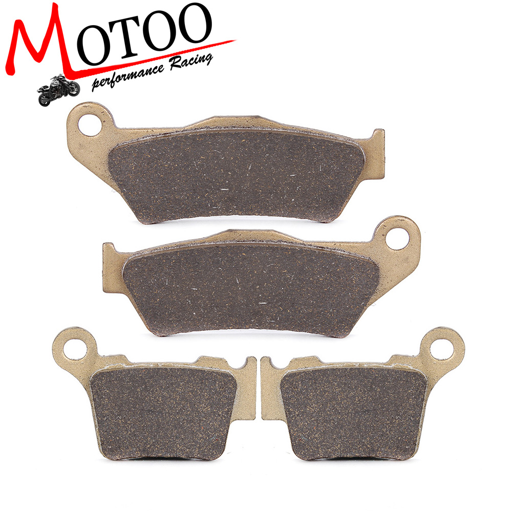 Motoo - Motorcycle Front and Rear Brake Pads For KTM EXC125 2004-2007 SX125 2004-2014 SX1502008-2014 motorcycle front and rear brake pads for ktm exc egs exe lc2 125 1994 2003 black brake disc pad