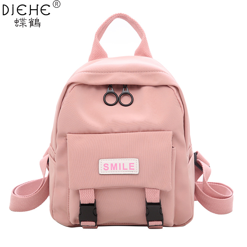 New Pretty Style Pure Women Backpack High Quality Small Nylon Children School Backpack Fashion Casual Girl Satchel Shoulders BagNew Pretty Style Pure Women Backpack High Quality Small Nylon Children School Backpack Fashion Casual Girl Satchel Shoulders Bag