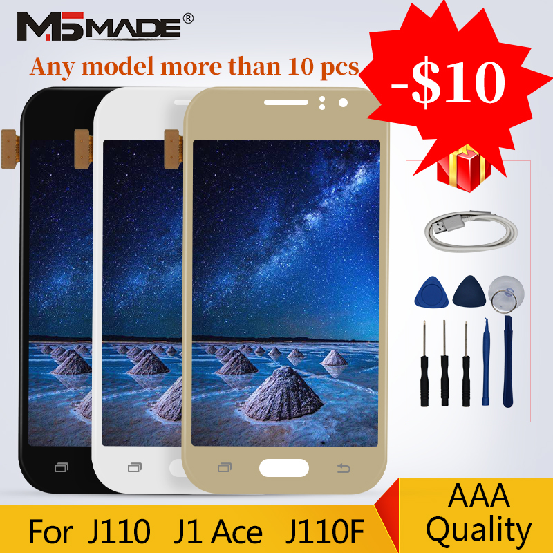 J110 Original Super AMOLED For Samsung Galaxy J1 Ace 2016 J110 J110H J110F J110M LCD Touch Digitizer Screen Assembly PartsJ110 Original Super AMOLED For Samsung Galaxy J1 Ace 2016 J110 J110H J110F J110M LCD Touch Digitizer Screen Assembly Parts