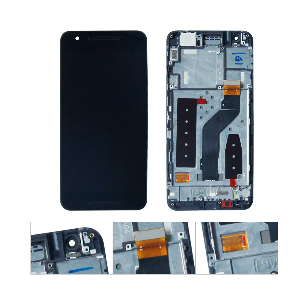 For Huawei Google Nexus 6P H1511 H1512 LCD Display with Touch Screen Digitizer Assembly For Huawei Google Nexus 6P H1511 H1512 LCD Display with Touch Screen Digitizer Assembly