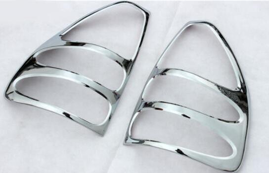 ABS chrome For toyota land cruiser Prado 120 accessory tail light rear lamp cover Prado fj120 2003 2004 2005 2006 2007 2008