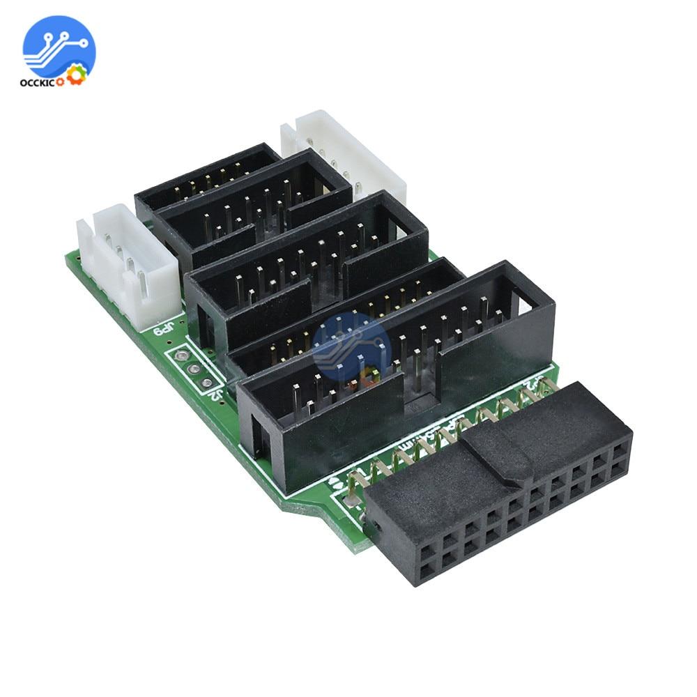 High Speed J-Link JLink USB ARM JTAG Emulator Debugger Software Support  J-Link Emulator Adapter Converter for TQ2440 MINI2440