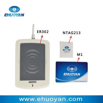 13 56Mhz ISO 14443 A Rfid Writer USB ER301 + SDK+software eReader