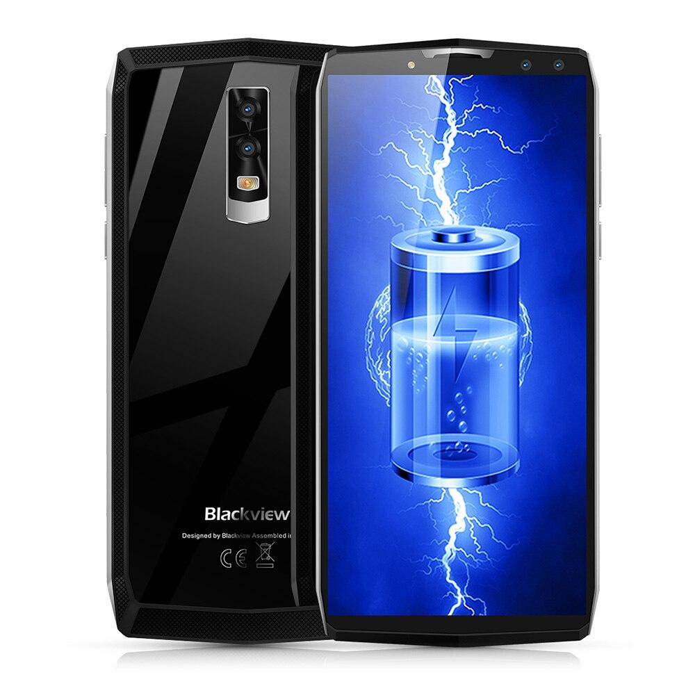 Blackview P10000 Pro 4G Phablet 6,0 pulgadas Android 7,1 MTK6763 Octa Core 2,0 GHz 4 GB 64 GB Quad cámaras de tipo C 11000 mAh batería