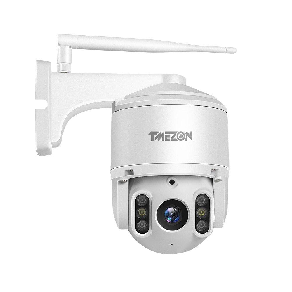 TMEZON PTZ IP Security 1080P Camera IR Cut Night Vision Email Alarm 2 Way Audio Weatherproof