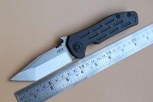 Zero Tolerance 0620CF Emerson Folding Knife titanium carbon fiber Copper washer hunting camp Pocket Survival EDC Tools D2 knives