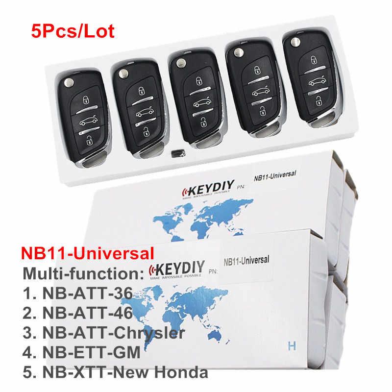 OkeyTech 5 ピース/ロット NB11 ユニバーサル多機能 KD リモート 3 ボタン NB シリーズため KEYDIY KD900 KD200 URG200 リモートマスター