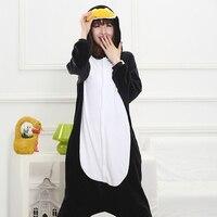 Funny Whole Pajamas Adults Sloth Onesies Flannel Kigurumi Penguin One Piece Sleepwear Cute Home Jumpsuit Women
