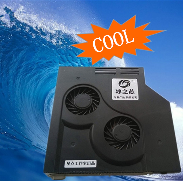12.7mm Laptops optical CD drive modified cooling Cooler SATA Interface quiet Adjustable speed ventilation turbo fans radiator 12 7mm laptops optical cd drive modified cooling cooler sata interface quiet adjustable speed ventilation turbo fans radiator
