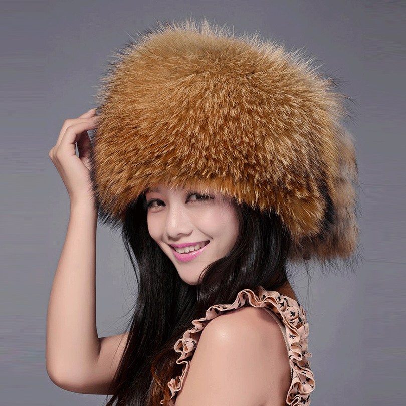 Fur Hats Russia Fashion Bomber Cap 2018 Luxury Bombers Natural Real Fox Fur Hat For Womens Winter Bomber Hats Fur 2017 new lace beanies hats for women skullies baggy cap autumn winter russia designer skullies