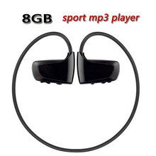 Hot High quality 8GB Sport MP3 player W262 Stereo Headset MP3 headphone walkman mp3 player