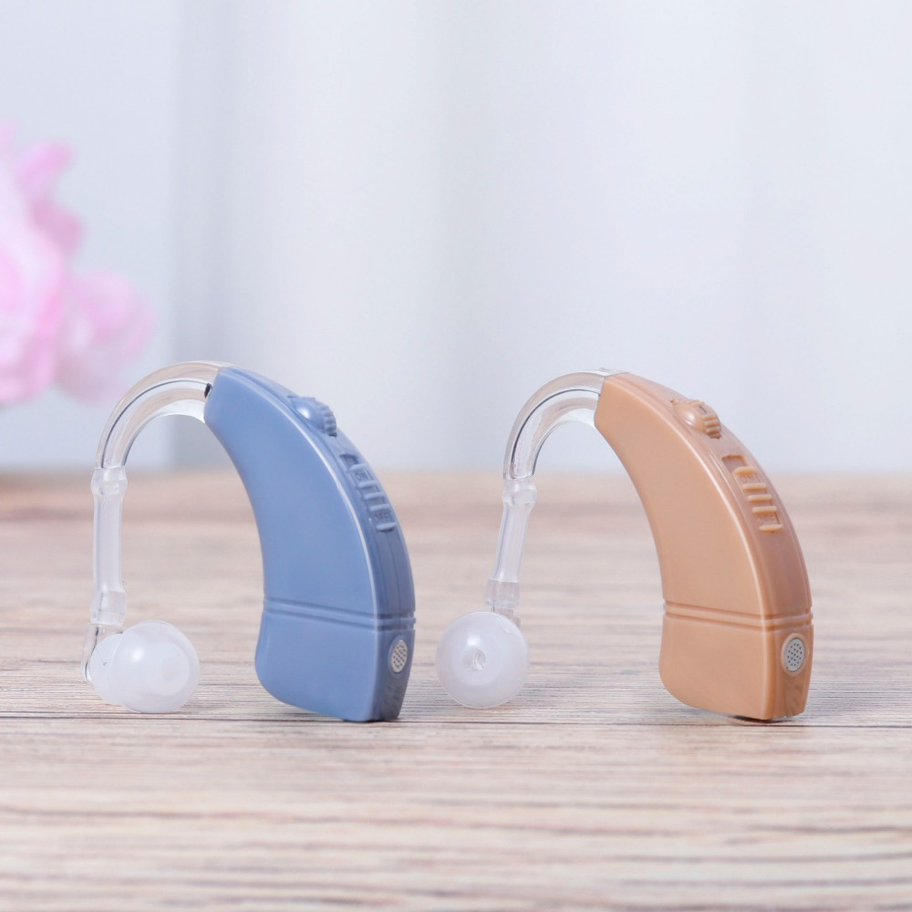 Free Shipping Rechargeable BTE Hearing Aid Digital Tone Ear Sound Amplifier Adjustable Hearing Aids Ear Care Hearing Amplifier mini dp thunderbolt to vga