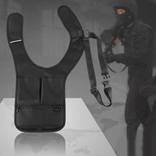 Outdoor Anti Theft Messenger Bag Foldable Cross-package Storage Bag Underarm Invisible Backpack