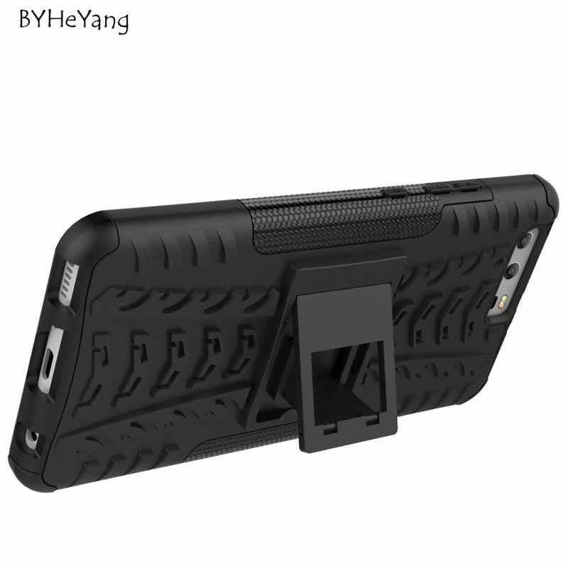 Чехол для телефона чехол для Huawei P10 Plus 5,5 дюймовые шины жесткий чехол сверхмощный Броня Гибридный ТПУ + PC Стенд для Huawei P10 Plus чехол
