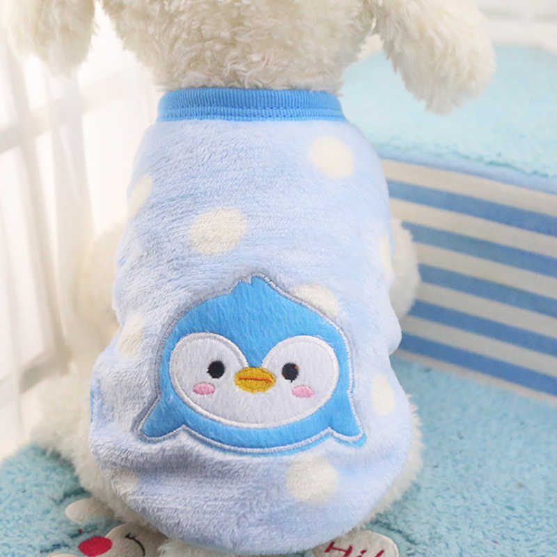 3e104243e412 ... Pet Clothes Winter XXS Cute Cartoon Wool Dog Sweaters Soft Pet Clothes  for Small Dog Clothing ...