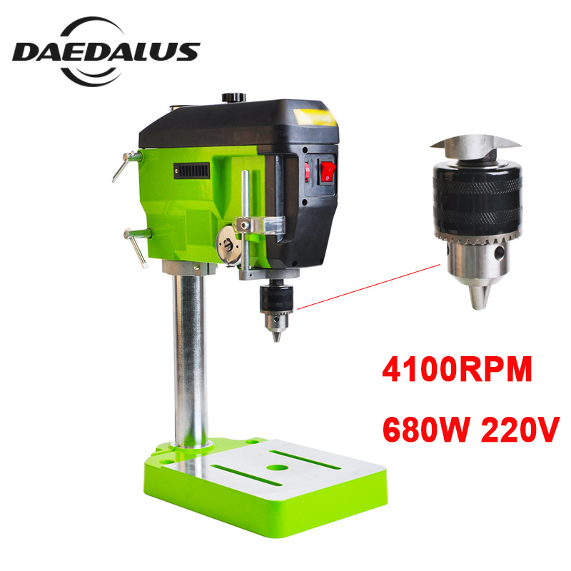 BG 5168E Electric Drills 680W 220V Mini Drilling Machine 4100RPM Bench Drill CNC Milling Engraving For
