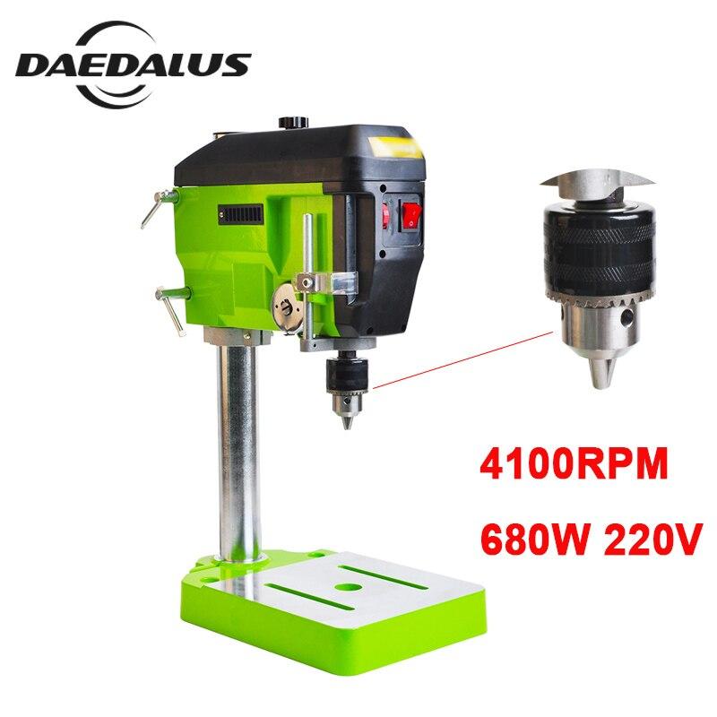 BG-5168E Perceuses Électriques 680 W 220 V Mini machine de forage 4100 RPM perceuse d'établi CNC Fraisage Gravure Pour bricolage Bois Métal Électrique
