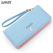 Woman's wallet Long Zipper Luxury Brand Leather Coin Purses Tassel Design Clutch Wallets Female Money Bag Credit Card Holder 536 все цены